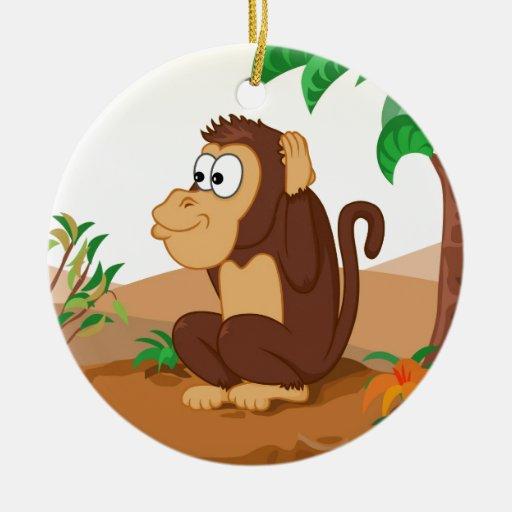 Los tres monos sabios adornos de navidad