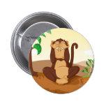 Los tres monos sabios pin
