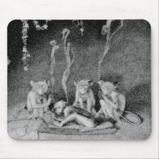 Los tres Mulla-Mulgars Tapetes De Ratón