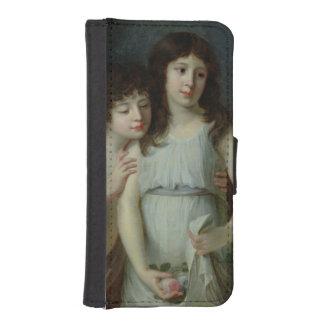 Los tres niños de Monsieur Langlois Billetera Para iPhone 5