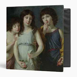"Los tres niños de Monsieur Langlois Carpeta 1 1/2"""