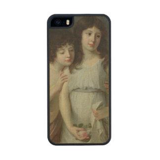 Los tres niños de Monsieur Langlois Funda De Arce Carved® Para iPhone 5