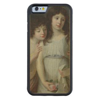 Los tres niños de Monsieur Langlois Funda De iPhone 6 Bumper Arce