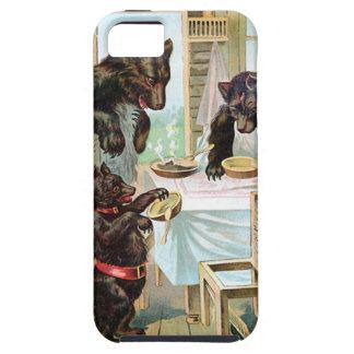 Los tres osos iPhone 5 carcasas