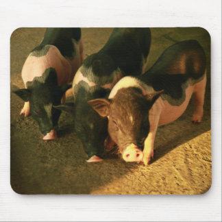 Los tres pequeños cerdos alfombrilla de ratón
