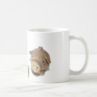 Los tres pequeños cerdos taza de café