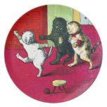 Los tres pequeños gatitos plato de cena