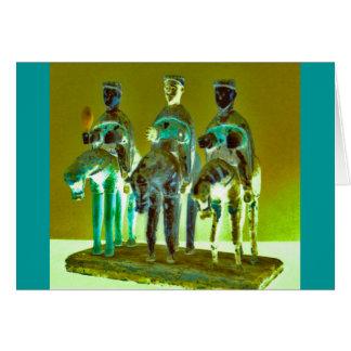"""""""Los Tres Reyes #4 """" Tarjeta De Felicitación"""