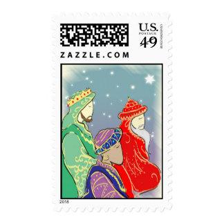 Los Tres Reyes Stamp