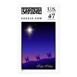 Los tres reyes y una estrella: Inglés Timbres Postales