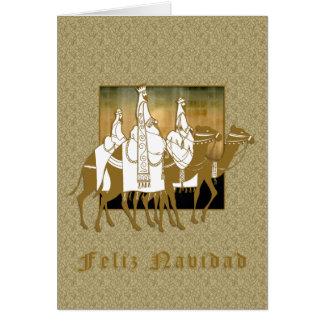 Los Tres Santos Reyes - Tarjeta Card