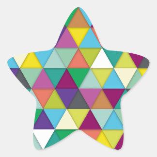 Los-Tri-Ángeles Calcomanías Forma De Estrella