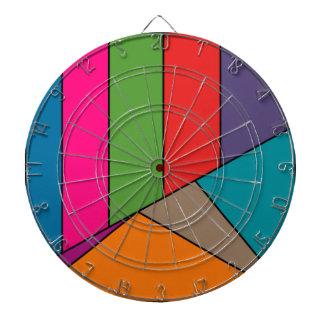 Los triángulos de las rayas del MOSAICO colorearon