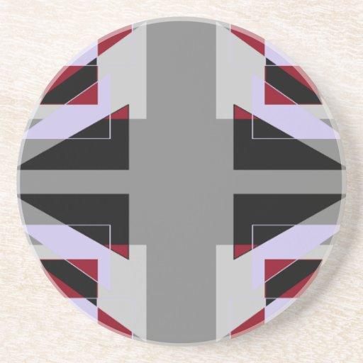 Los triángulos de TRE 4 resumen blanco gris del ro Posavasos Cerveza