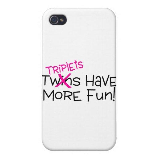 Los tríos se divierten más iPhone 4/4S fundas