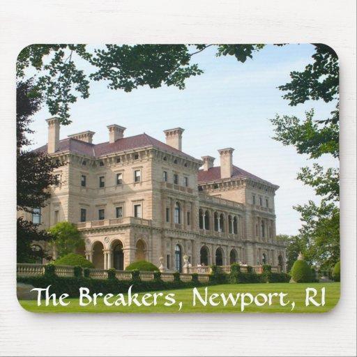 Los trituradores Newport Rhode Island Mousepad Tapete De Ratón