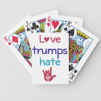 Los triunfos del amor odian el triunfo anti baraja
