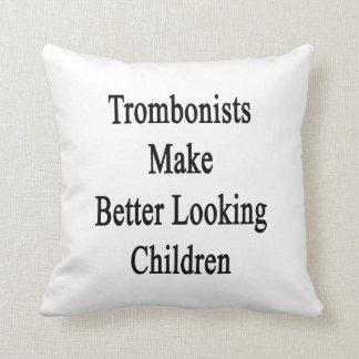Los trombones hacen a niños más apuestos cojín