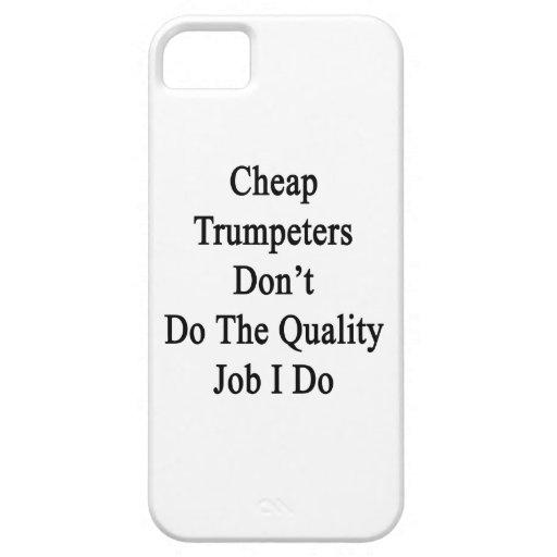 Los trompetistas baratos no hacen el trabajo de la iPhone 5 funda