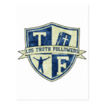 Los Truth Followers Badge Post Cards