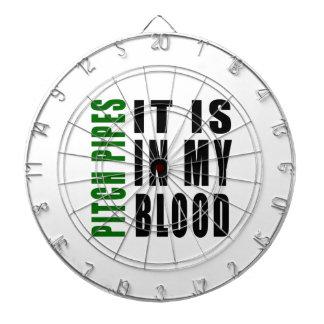 Los tubos de echada está en mi sangre tabla dardos