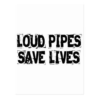 Los tubos ruidosos ahorran vidas postales