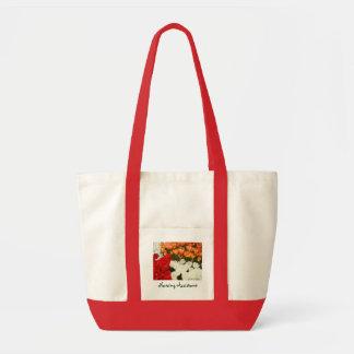 Los tulipanes auxiliares de las bolsas de asas del