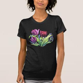 Los tulipanes de PMACarlson con la primavera Tee Shirts