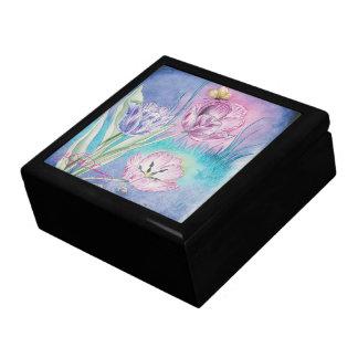 Los tulipanes vespertinos caja de regalo