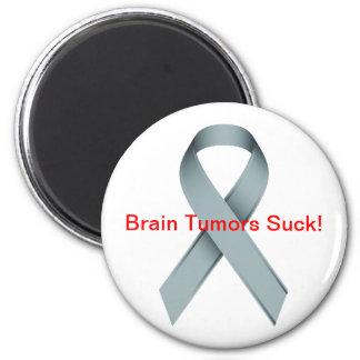 Los tumores cerebrales chupan imán redondo 5 cm