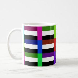 Los UAE Multihue señalan la taza por medio de una