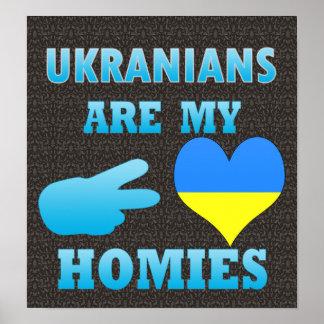 Los ucranianos son mi Homies Póster