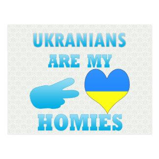 Los ucranianos son mi Homies Postal