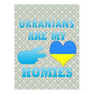Los ucranianos son mi Homies Tarjetas Postales