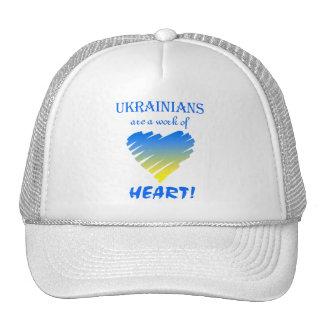 ¡Los ucranianos son un trabajo del corazón! Gorro