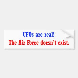 Los UFO son reales Pegatina Para Auto
