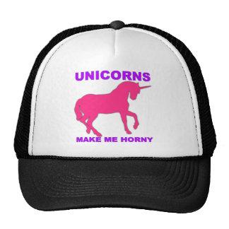 los unicornios me hacen córneo gorros