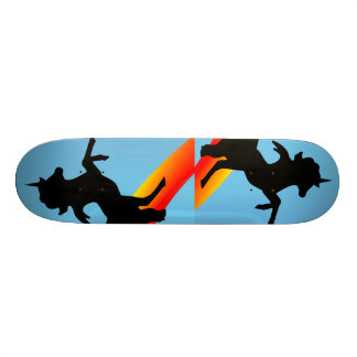 """""""Los unicornios negros """" Tabla De Skate"""