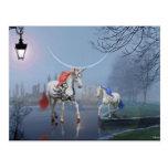 Los unicornios postal