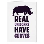 Los unicornios reales tienen curvas