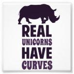 Los unicornios reales tienen curvas fotografia
