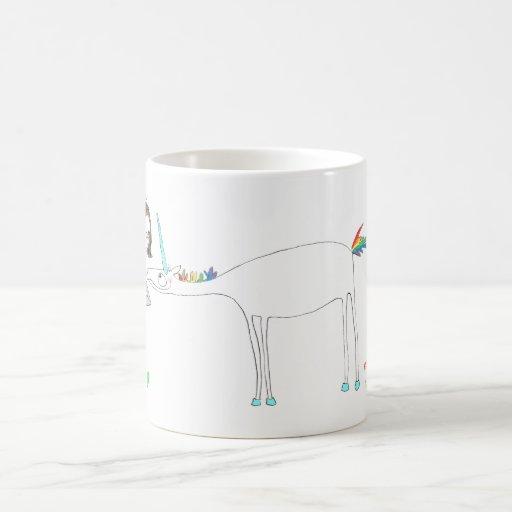 Los unicornios son el MEJOR Taza Básica Blanca