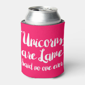Los unicornios son hoja de metal dicha nadie nunca enfriador de latas