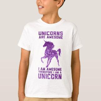 Los unicornios son impresionantes playera