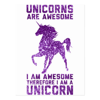 Los unicornios son impresionantes postal