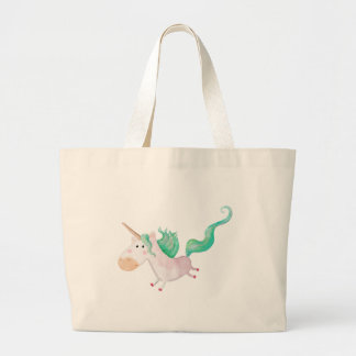 Los unicornios son mágicos bolsas lienzo