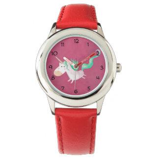 Los unicornios son mágicos reloj de mano