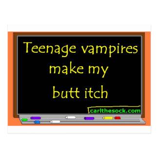 Los vampiros adolescentes hacen mi picor del tarjeta postal