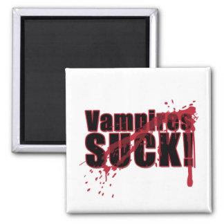 Los vampiros CHUPAN 3 Imán Cuadrado