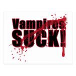 Los vampiros CHUPAN 3 Postal